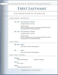 Free Resume Template Word Resume Download Free Word Format Resume Format And Resume