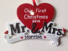 Personalized Ornaments Wedding 2017 Engagement She Said Yes Will You Marry Me First