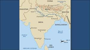 Map Of Southern Asia by Standards Ss7g9 The Student Will Locate Selected Features In