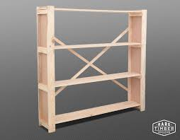 Timber Bookshelf Shelving Cape Town Wooden Storage Systems Timber Shelves