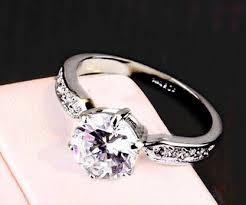 crystal diamond rings images 2015 18k white gold gp swarovski crystal wedding engagement ring jpg