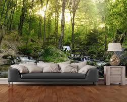 Living Room Wallpaper In Nigeria Online Buy Wholesale Waterfall Wallpaper From China Waterfall