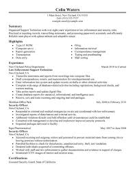 Security Guard Job Description For Resume by Unforgettable Service Center Technician Resume Examples To Stand