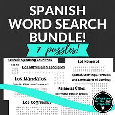 got sub plans this bundle includes 7 of my top selling spanish