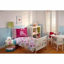 everything kids hoot hoot 3 piece toddler bedding set with bonus