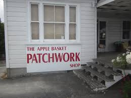 Apple Basket Patchwork Shop - textile treasury stitching in the antipodes