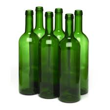 wine bottle emoji wilko wine bottles green 6pk at wilko com