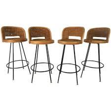 bar stools eames molded plastic bar stool vintage mid century