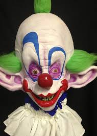 Killer Klowns Outer Space Halloween Costumes Mask Tiny Killer Klown Mask