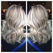 pictures of blonde highlights on natural hair n african american women silver blonde highlights with natural dimension eclekticastyle