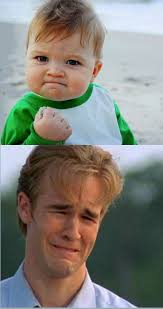 Success Meme Generator - happy sad success kid crying 90s guy blank template imgflip