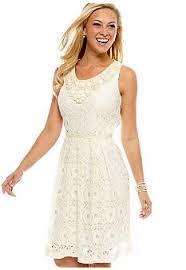 reflection lace dress white cute bachelorette party dress