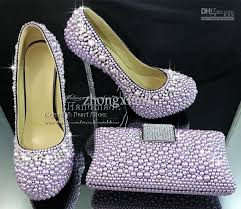 wedding shoes and bags purple high heel platform designer wedding shoes with matching