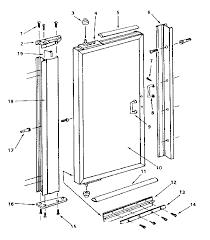 Shower Door Part Sears Sears Pivot Shower Door Parts Model 39268490 Sears