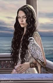 long hair lady lady of andunie by ladyoftheflower on deviantart