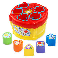amazon com vtech sort and discover drum toys u0026 games
