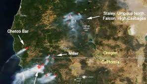 map of oregon evacuation chetco bar in oregon quadruples in four days approaches