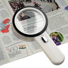 amazon com number one 10x led lighted magnifier handheld