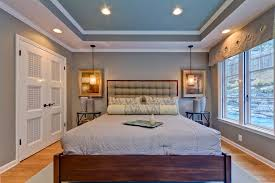 recessed lighting in bedroom coffered ceiling bedroom bedroom tropical with modern colors