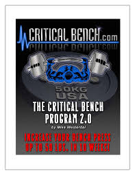 the critical bench program 2 0 free download by the critical bench