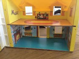 Fisher Price Doll House Furniture Vintage Retro 1969 952 Model Fisher Price Play Dolls House Toy