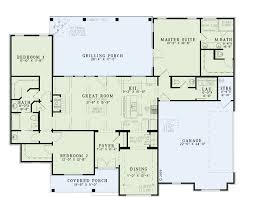 house plans with butlers pantry house plan 61297 at familyhomeplans com
