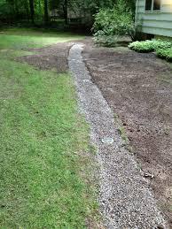 landscape drainage mat backyard landscaping photo gallery