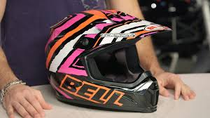 motocross helmets with goggles bell mx 9 helmet review at revzilla com youtube