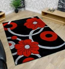 Red Black White Area Rugs Summit 034 Gray White Red Black Abstract Area Rug Area Rugs 2x3