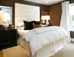 Headboard With Mirror by Staggered Mirrors Over Headboard Design Ideas