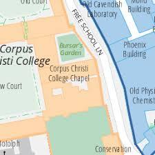 map of corpus christi corpus christi map of the of cambridge