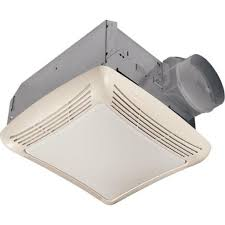Ductless Bathroom Fan With Light Nutone 50 Cfm Ceiling Exhaust Bath Fan With Light 763rln The