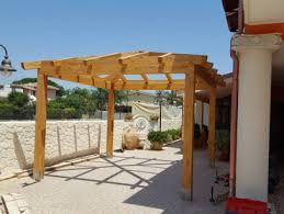 struttura in legno per tettoia tettoie di legno ragusa geppetto tettoie