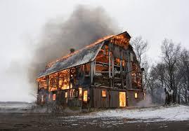Barn Burning Questions Growing Problem Burning Demolished Farm Buildings Minnesota