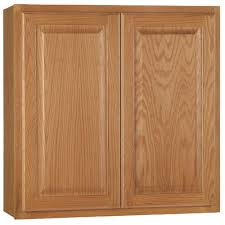 oak wood natural glass panel door pre assembled kitchen cabinets