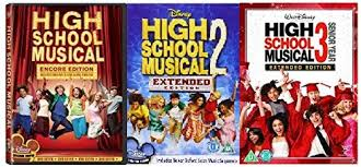 high school high dvd walt disney s high school musical trilogy complete all 3 3