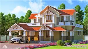 span new kerala style dream home elevations kerala house design