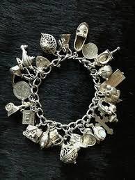 sterling silver charm bracelet charm images 320 best vintage charms bracelets images vintage jpg