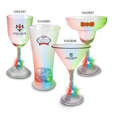 martini glass logo custom imprinted color changing glassware promotional logo color