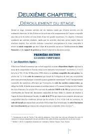 rapport de stage 3eme cuisine rapport de stage comptabilité sujet les compétences et les actions