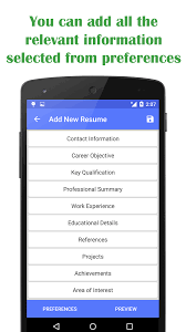 Free Printable Resume Templates Online by Quick Resume Builder Android Apps On Google Play