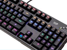 black friday mechanical keyboard deals multicolor rgb backlit full sized blue switch mechanical keyboard