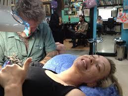 jett at southside tattoo working on my tattoo drawing yelp