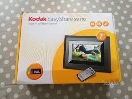 cornici digitali kodak cornice digitale kodak easyshare sv710 fotografia in vendita a
