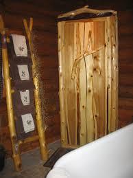 Log Vanity Cedar Log Vanity Rustic Log Furniture
