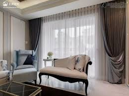 Living Room Curtain Design Ideas Layer Curtains In The Living - Living room curtain design ideas