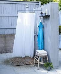 box doccia da esterno 60 idee docce terrazzo giardino