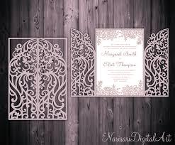 5x7 u0027 u0027 gate fold door wedding invitation card template quinceanera