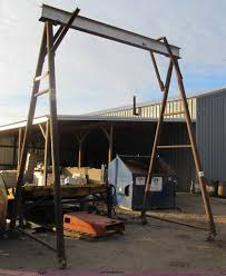 steel a frame item h4281 sold december 31 construction