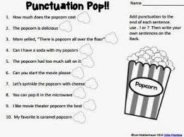 bunch ideas of punctuation worksheets for adults for sheets